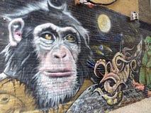 Γκράφιτι στον τοίχο στοκ εικόνες με δικαίωμα ελεύθερης χρήσης