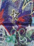 Γκράφιτι στον τοίχο Στοκ Εικόνες