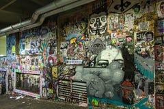 Γκράφιτι στο Σιάτλ Στοκ Φωτογραφίες