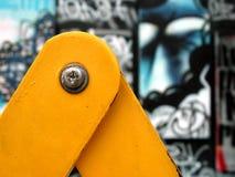 γκράφιτι τέχνης Στοκ Φωτογραφία