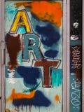 Γκράφιτι ΤΕΧΝΗΣ Στοκ εικόνα με δικαίωμα ελεύθερης χρήσης