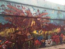 Γκράφιτι της Μπογκοτά Στοκ εικόνα με δικαίωμα ελεύθερης χρήσης