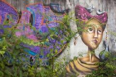 Γκράφιτι τοίχων Στοκ φωτογραφία με δικαίωμα ελεύθερης χρήσης