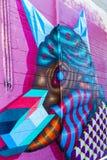 Γκράφιτι Τορόντο Καναδάς αγοράς Kensington Στοκ φωτογραφία με δικαίωμα ελεύθερης χρήσης