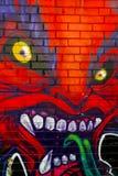 Γκράφιτι Τορόντο Καναδάς αγοράς Kensington Στοκ εικόνα με δικαίωμα ελεύθερης χρήσης