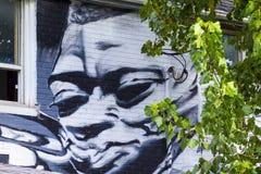 Γκράφιτι Τορόντο Καναδάς αγοράς Kensington Στοκ Εικόνες