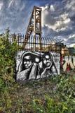 Γκράφιτι του ανατολικού Λονδίνου Στοκ φωτογραφίες με δικαίωμα ελεύθερης χρήσης