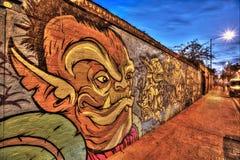 Γκράφιτι του ανατολικού Λονδίνου Στοκ Φωτογραφία