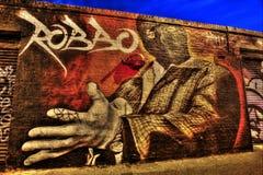 Γκράφιτι του ανατολικού Λονδίνου Στοκ Εικόνες