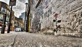 Γκράφιτι του ανατολικού Λονδίνου Στοκ Φωτογραφίες