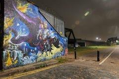 Γκράφιτι του ανατολικού Λονδίνου Στοκ εικόνα με δικαίωμα ελεύθερης χρήσης