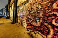 Γκράφιτι του ανατολικού Λονδίνου Στοκ Εικόνα
