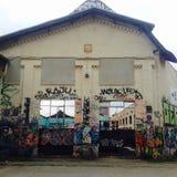Γκράφιτι του Βερολίνου Στοκ φωτογραφίες με δικαίωμα ελεύθερης χρήσης