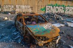 Γκράφιτι του Κλίβελαντ Στοκ φωτογραφία με δικαίωμα ελεύθερης χρήσης