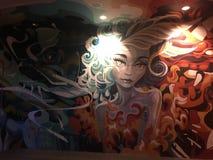 Γκράφιτι του Λας Βέγκας Στοκ Φωτογραφίες