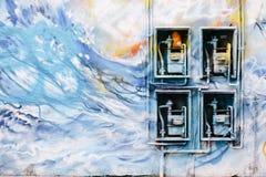 Γκράφιτι του Λονδίνου ανατολικού άκρους Στοκ Φωτογραφίες