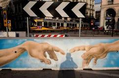 Γκράφιτι του Νιου Τζέρσεϋ Στοκ Εικόνες