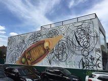 Γκράφιτι του Σάο Πάολο Στοκ Εικόνα