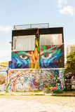 Γκράφιτι του Σάο Πάολο Στοκ φωτογραφία με δικαίωμα ελεύθερης χρήσης