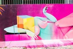 Γκράφιτι του Σάο Πάολο Στοκ εικόνες με δικαίωμα ελεύθερης χρήσης
