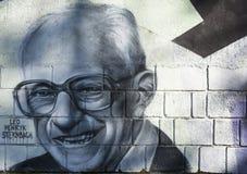 Γκράφιτι του Leo Henryk Sternbach Στοκ εικόνες με δικαίωμα ελεύθερης χρήσης
