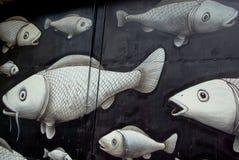 γκράφιτι φεστιβάλ καλλιέ&r Στοκ Φωτογραφία