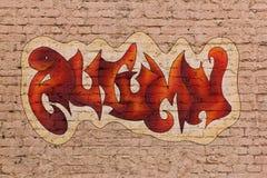 γκράφιτι φθινοπώρου Στοκ εικόνες με δικαίωμα ελεύθερης χρήσης