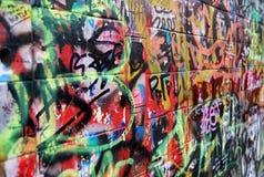 γκράφιτι Στοκ φωτογραφίες με δικαίωμα ελεύθερης χρήσης