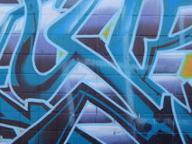 γκράφιτι Στοκ φωτογραφία με δικαίωμα ελεύθερης χρήσης