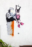 γκράφιτι Στοκ Φωτογραφία
