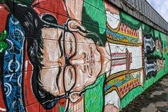Γκράφιτι 10 Στοκ εικόνα με δικαίωμα ελεύθερης χρήσης