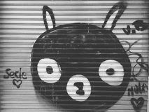 γκράφιτι Στοκ εικόνα με δικαίωμα ελεύθερης χρήσης