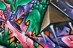 Γκράφιτι Abstrat Στοκ Εικόνες