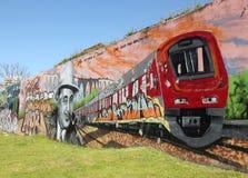 γκράφιτι capone Al στοκ φωτογραφία με δικαίωμα ελεύθερης χρήσης