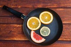Γκρέιπφρουτ, πορτοκαλί λεμόνι στοκ εικόνες με δικαίωμα ελεύθερης χρήσης