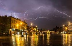 Γκρέιτ Γιάρμουθ τη νύχτα Στοκ εικόνες με δικαίωμα ελεύθερης χρήσης