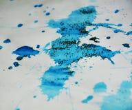 Γκρίζα αργυροειδή μπλε λαμπιρίζοντας σημεία, κέρινο υπόβαθρο, δημιουργικό σχέδιο Στοκ εικόνα με δικαίωμα ελεύθερης χρήσης