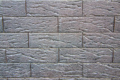 γκρίζα ασημένια τούβλα Στοκ εικόνες με δικαίωμα ελεύθερης χρήσης