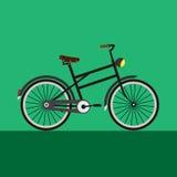 Γκρίζα εκλεκτής ποιότητας απεικόνιση ποδηλάτων Στοκ εικόνα με δικαίωμα ελεύθερης χρήσης