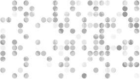 Γκρίζα εξαφανιμένος τηλεοπτική ζωτικότητα κύκλων απεικόνιση αποθεμάτων