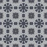 Γκρίζα καθολικά διανυσματικά άνευ ραφής σχέδια, επικεράμωση γεωμετρικές διακοσμήσεις Στοκ φωτογραφίες με δικαίωμα ελεύθερης χρήσης