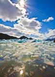 γκρίζα λίμνη Στοκ Εικόνες