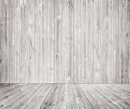 Γκρίζα ξύλινη σύσταση τοίχων με το παλαιό πεύκο, πάτωμα έλατου Στοκ Εικόνα