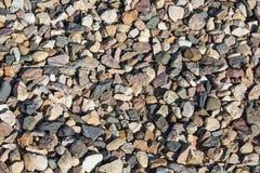 Γκρίζα πέτρα σύστασης αμμοχάλικου στοκ εικόνες με δικαίωμα ελεύθερης χρήσης