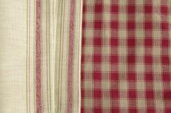 γκρίζα πετσέτα Στοκ φωτογραφία με δικαίωμα ελεύθερης χρήσης