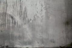 Γκρίζα ραγισμένη σύσταση τοίχων με το ρύπο και τους λεκέδες ηλικίας τοίχος σύστασης & Στοκ φωτογραφίες με δικαίωμα ελεύθερης χρήσης