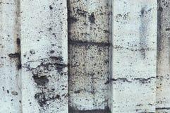 Γκρίζα συγκεκριμένη λουρίδα Στοκ φωτογραφία με δικαίωμα ελεύθερης χρήσης