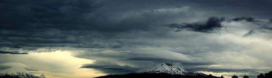 Γκρίζα σύννεφα στοκ εικόνα