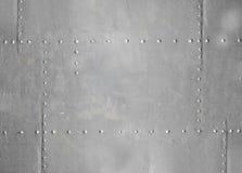 Γκρίζα σύσταση ανασκόπησης τοίχων μετάλλων Στοκ φωτογραφία με δικαίωμα ελεύθερης χρήσης
