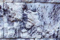 γκρίζα σύσταση βράχου ανασκόπησης Δομή βράχου λεπτομέρειας Στοκ Φωτογραφίες